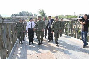 Rama dhe Timoty Orr vizituan urën në Kramovik