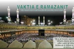 Ramazani fillon më 9 korrik 2013