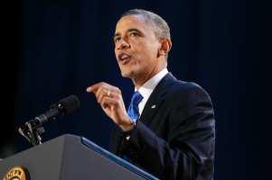 """Obama: Nuk e vendosa unë """"vijën e kuqe"""" por bota"""