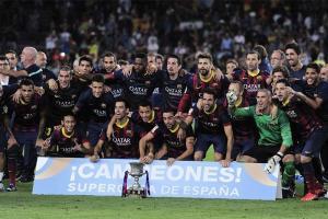 Barcelona fiton Superkupën e Spanjës