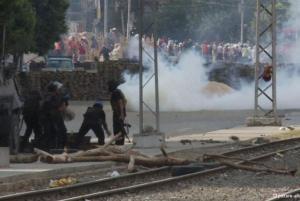15 të vdekur nga shpërndarja e kampit të protestave në Kajro