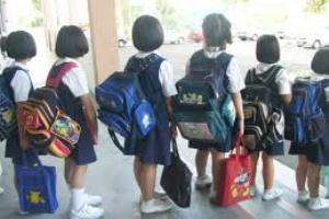 Çantat e nxënësve, të mbingarkuara
