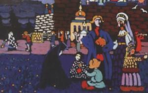Nxirret në shtije një pikturë të panjohur e Kandinskit
