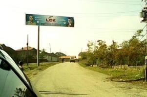 PDK-ja largon afishet e LDK-së në Drenoc