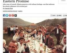 """Gatimi shqiptar, vecanërisht Tava e Kosit vlerësohet nga """"Saveur"""""""