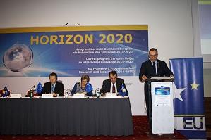 """Buja mori pjesë në Konferencën Inauguruese të Programit """"Horizon 2020"""""""
