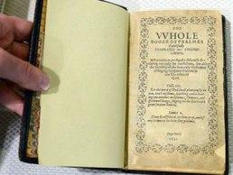 """Libri """"Bay Psalm"""", më i shtrenjti ndër botimet, me 14,2 mln USD"""