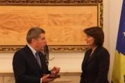 Bach: Pranimi në KON ndihmon konsolidimin e Kosovës