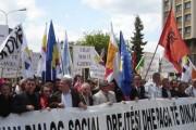Sindikata e Pavarur e Sektorit Privat proteston më 1 Maj