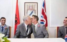 Martesa e parë e homoseksualëve në Tiranë