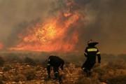 Zjarr i madh në Budakovë të Therandës