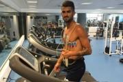 Hysaj duke u stërvitur te Napoli