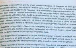 Tekstet shkollore me përmbajtje fyese për shqiptarët