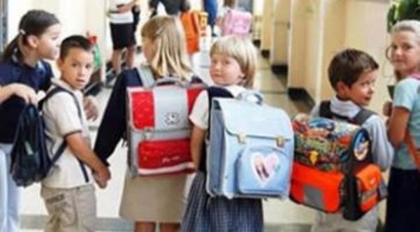 Nxënësit në rrezik nga çantat e rënda