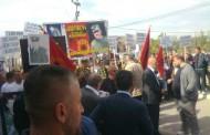 Në Prizren protestohet kundër arrestimit të Xhemshit Krasniqit