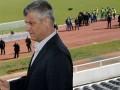 Hashim Thaçi shkon në Elbasan Arena