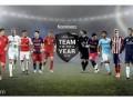 UEFA ka zbuluar kandidatët për ekipin e vitit