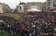 Shumë malishevas iu bashkuan manifestimit të Opozitës (Video)