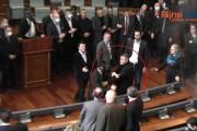 Zafir Berisha kacafytet me policinë (Video)