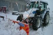 Ukraina pushtohet nga bora, 300 aksidente trafiku