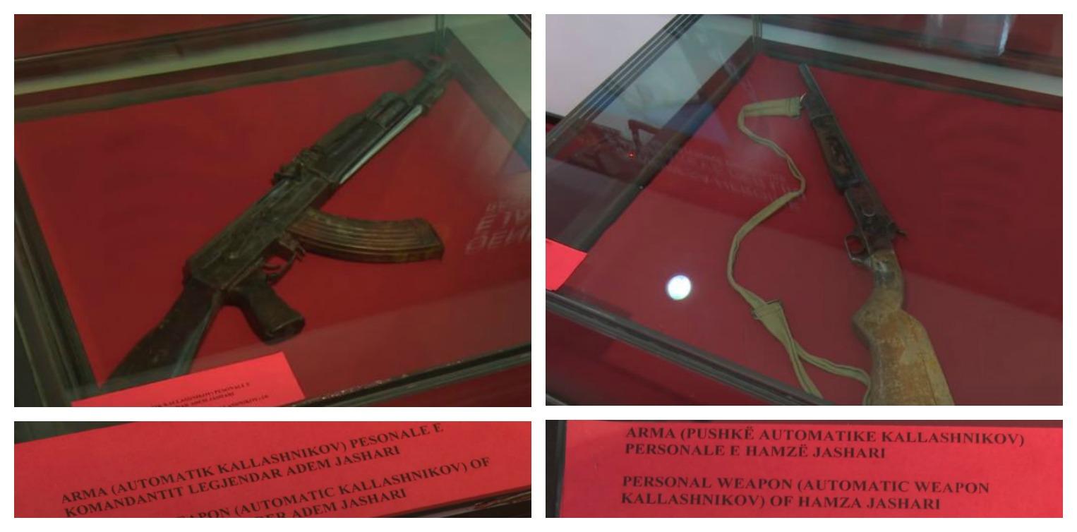 Policia sekuestron dy armë në Poslisht të Prizrenit