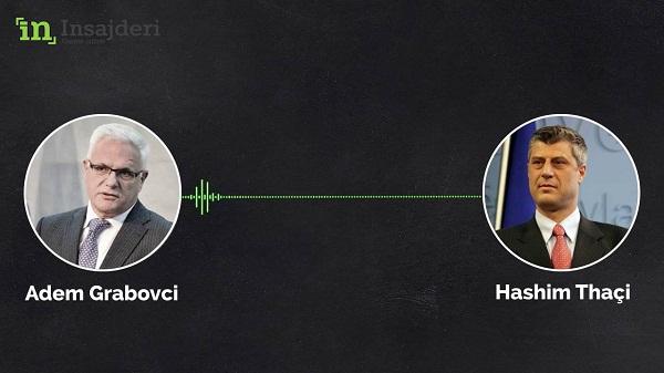 Dosja e Shefave IV: Veprimet e dyshimta të Grabovcit në koordinim me Thaçin (Audio)