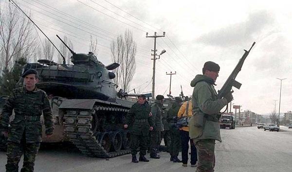25 ushtarë turq plagosen aksidentalisht gjatë stërvitjes ushtarake