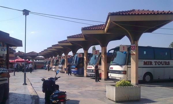 Prizren, kontroll i ndalesave të autobusëve (VIDEO)