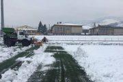 Hiqet bora në stadiumin e Lirisë