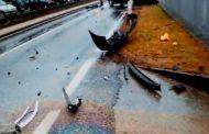 Aksident tjetër në autostradë  në afërsi të Prizrenit, tre të lënduar (Foto)
