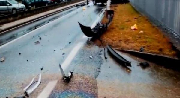 Dy të lënduar nga aksidenti në Rahovec