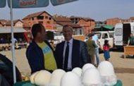 Ragip Begaj, vizitoi tregun në Malishevë