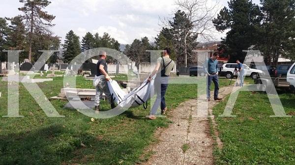 Në Prizren gjenden mbetje mortore të dy trupave