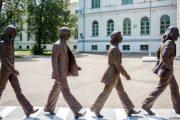 """The Beatles """"arrijnë"""" në Siberi"""