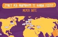 Hardh Fest hap 17 zyre promovuese në botë
