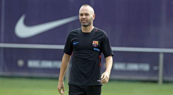 Iniesta nuk po stërvitet me Barcelonën