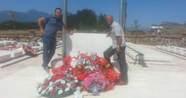 Sabahajdin Cena : Nderimi u takon atyre që ranë në altarin e atdheut