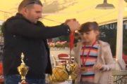 Sukseset e pandalshme të vogëlushes Stina Sallauka (Video)