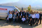 Sali Zyba nis vizitat në lagje dhe fshatrat e Therandës