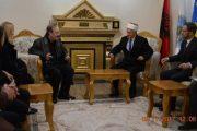 Eliot Engel, vizitoi Këshillin e Bashkësisë Islame në Prizren