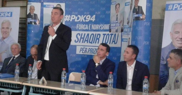 Tubim zgjedhor i PDK-së në Prizren(Drejtpërdrejt)