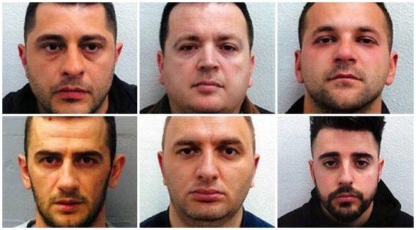 Bandës shqiptare të kokainës në Londër mbi 50 vjet burgim