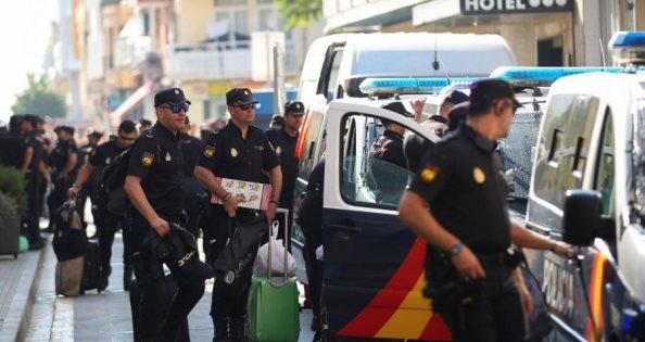 Spanja tërheq 5,000 policë nga Katalonja