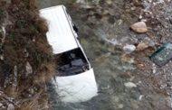 Shikojeni ku përfundon kjo veturë në rrugën Prizren-Prevallë (Foto)
