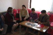 Dy familje skamnore me të sëmurë në Planejë të Hasit, vizitohen nga drejtoresha e re e shëndetësisë në Prizren