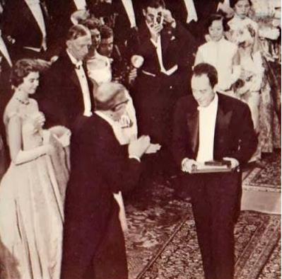 Diskutimi i Kamy-s, me rastin e dorëzimit të Çmimit Nobel në letërsi, më 1957
