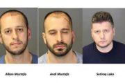 Tre shqiptarë të arrestuar në Detroit për vjedhje në disa shtëpi që nga 2014-a
