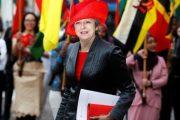 Kryeministrja britanike viziton sot Maqedoninë
