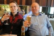 Spiuni rus, gjurmë të helmit gjenden në restorantin ku hëngrën babë e bijë
