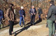 Malishevë: Filloi rregullimi i rrugës që do të jetë në shërbim të bujqve